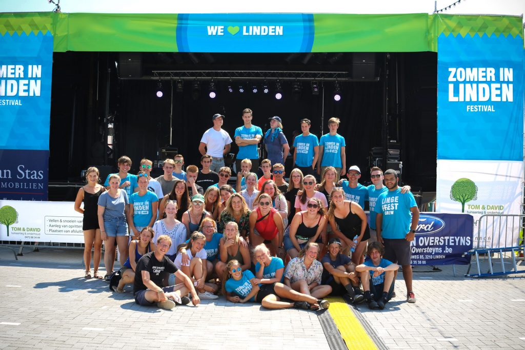 Zomer in Linden - crew
